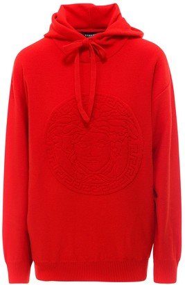 Versace Medusa Hooded Sweater