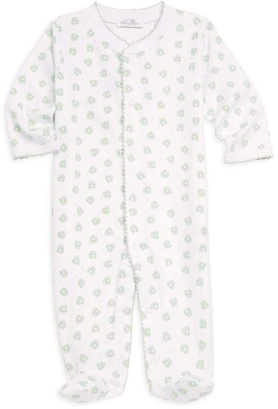 Kissy Kissy Baby's Homeward Printed Cotton Footie