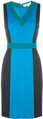 Diane von Furstenberg Arbor v-neck mini dress