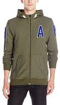 G Star Men's Warth Hooded Vest Sw l Sweatshirt, Dk Bronze Green Htr 6368