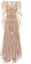 Etro Printed cotton-blend maxi dress