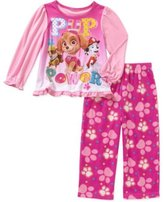 Nickelodeon Paw Patrol Skye Toddler Girls 2 Piece Long Sleeve Top & Fleece Pants Pajama