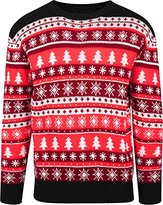 Urban Classics Men's Snowflakes Christmas Crewneck Jumper