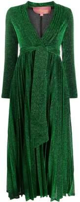 Amuse V-neck pleated dress