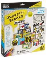 PAPER PUNK Color & Build Graffiti Blocks Paper Folding Kit