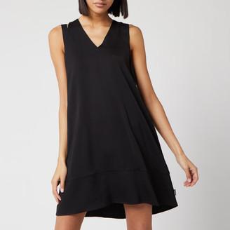 Calvin Klein Women's V-Neck Flared Dress