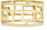 JCPenney Bold Elements Gold-Tone Wide Geometric Cuff Bracelet