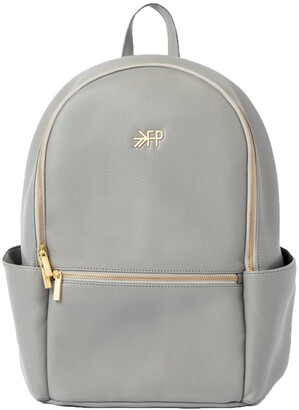 Freshly Picked Classic City Pack Faux Leather Diaper Bag