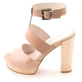 Kenneth Cole Women's Ray Leather Platform Heeled Sandals.