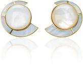 Monica Sordo Mother of Pearl Nautilus Earfan Baby Earrings