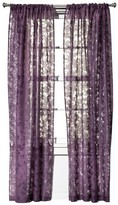 Threshold Botanical Burnout Sheer Curtain Panel
