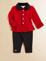 Ralph Lauren Infant's Military Jacket & Leggings Set