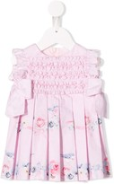 Lapin House ruffle Rose dress