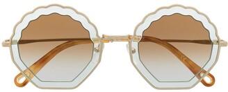 Chloé Rosie round sunglasses