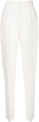 Rosetta Getty high-waisted tapered trousers