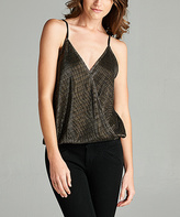 Tua Dark Bronze Beaded Tank