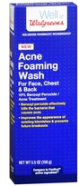 Walgreens Acne Foaming Wash