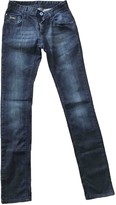 CNC Costume National Blue Cotton Jeans for Women