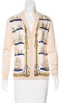 Hermes Vintage Silk Cardigan