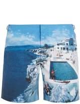 Orlebar Brown Bulldog Roc Pool photographic-print swim shorts