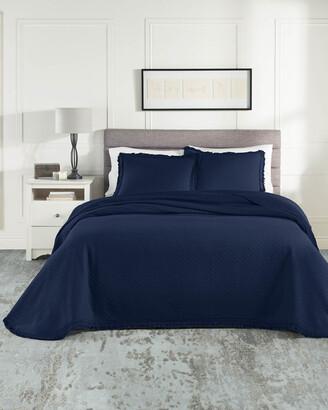 Realeza Woven Jacquard Bedspread Set