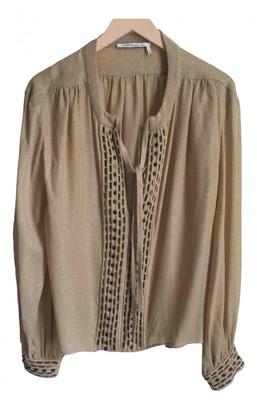 Agnona Beige Cashmere Knitwear