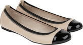 Accessorize Isabelle Elasticated PU Ballerina Flats