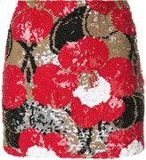 P.A.R.O.S.H. sequin mini skirt