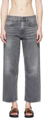 6397 Grey Skater Jeans