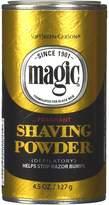 Magic Shaving Powder Gold 4.5 Ounce Fragrant (127g)