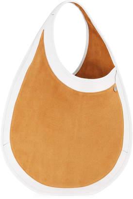 Hayward Teardrop Large Suede & Leather Tote Bag