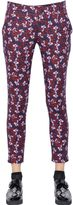 Mother of Pearl Floral Print Stretch Heavy Jersey Pants