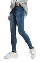 Topshop MOTO Let Hem Jamie Jeans 32-Inch Leg