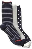 Gap Mix crew socks (3-pack)