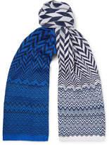 Missoni - Crochet-knit Cotton Scarf