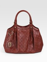 Sukey Guccissima Medium Top Handle Bag