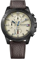 Tommy Hilfiger Men's 1791164 Analog Display Quartz Brown Watch