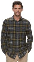 SONOMA Goods for Life Men's SONOMA Goods for LifeTM Slim-Fit Plaid Flannel Button-Down Shirt
