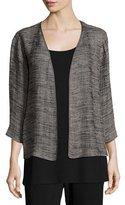 Eileen Fisher Strata Kimono 3/4-Sleeve Jacket, Plus Size