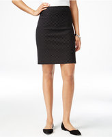 Charter Club Dot-Print Pull-On Skort, Only at Macy's