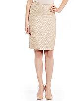 Preston & York Kelly Novelty Jacquard Pencil Skirt