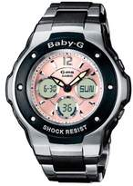 Baby-G Casio Women's Analogue/Digital Quartz Watch with Stainless Steel Bracelet – MSG-300C-1BER