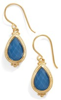 Anna Beck Women's Blue Quartz Small Teardrop Earrings