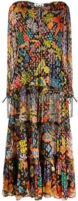Rixo Lori floral print dress