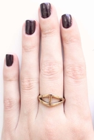 Low Luv x Erin Wasson by Erin Wasson Triangle Ring in Yellow Gold