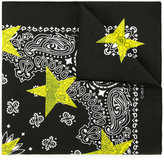 GUILD PRIME patterned star print scarf