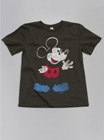 Junk Food Clothing Toddler Boys Mickey Mouse Tee-black Wash-2t