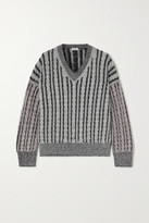 Loewe Cable-knit Wool Sweater