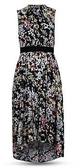 Ted Baker Jasmine Floral Print Belted Dress