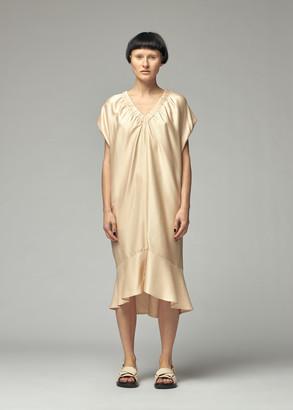 Zero Maria Cornejo Women's Lua Dress in Nude Size 4